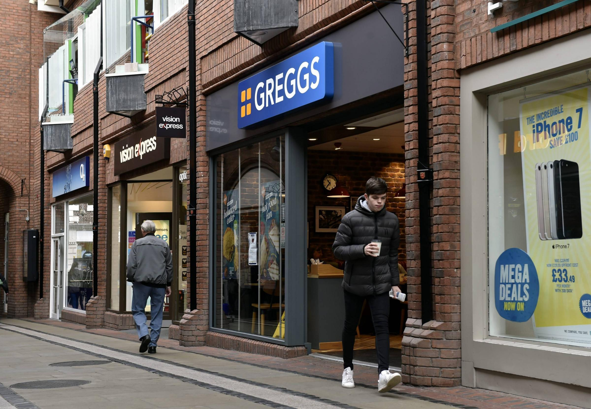 SHOP: Greggs in The Lanes shopping centre in Carlisle 				             Picture: David Hollins