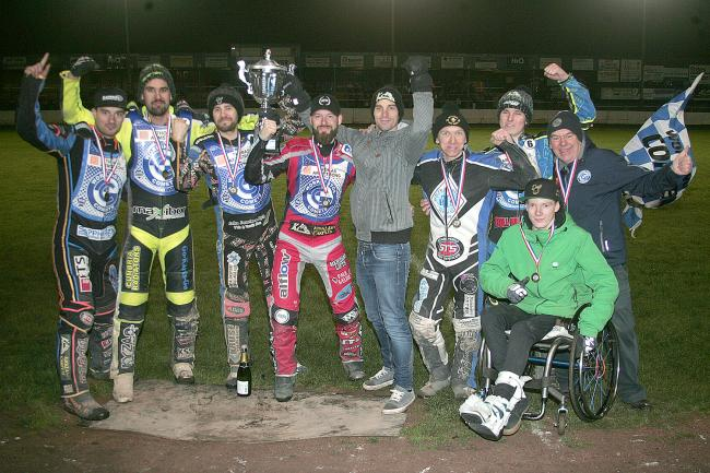 Championship winners: Workington Comets (Photo: Dave Payne)