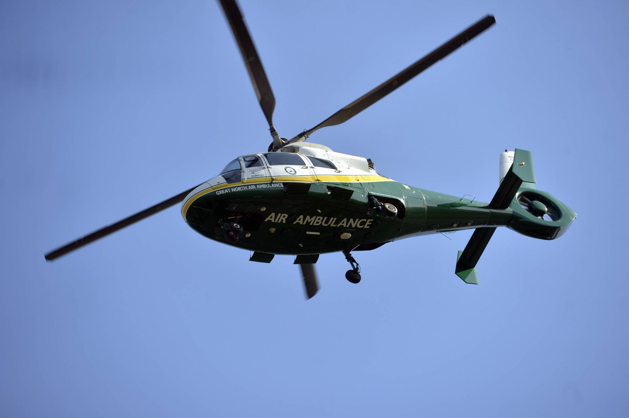 West Cumbrian motorcyclist was airlifted to hospital with serious injuries following A66 crash