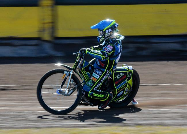 Committed: Rising star Kyle Bickley has signed for another season at Workington Comets (Photo: Tom Kay)