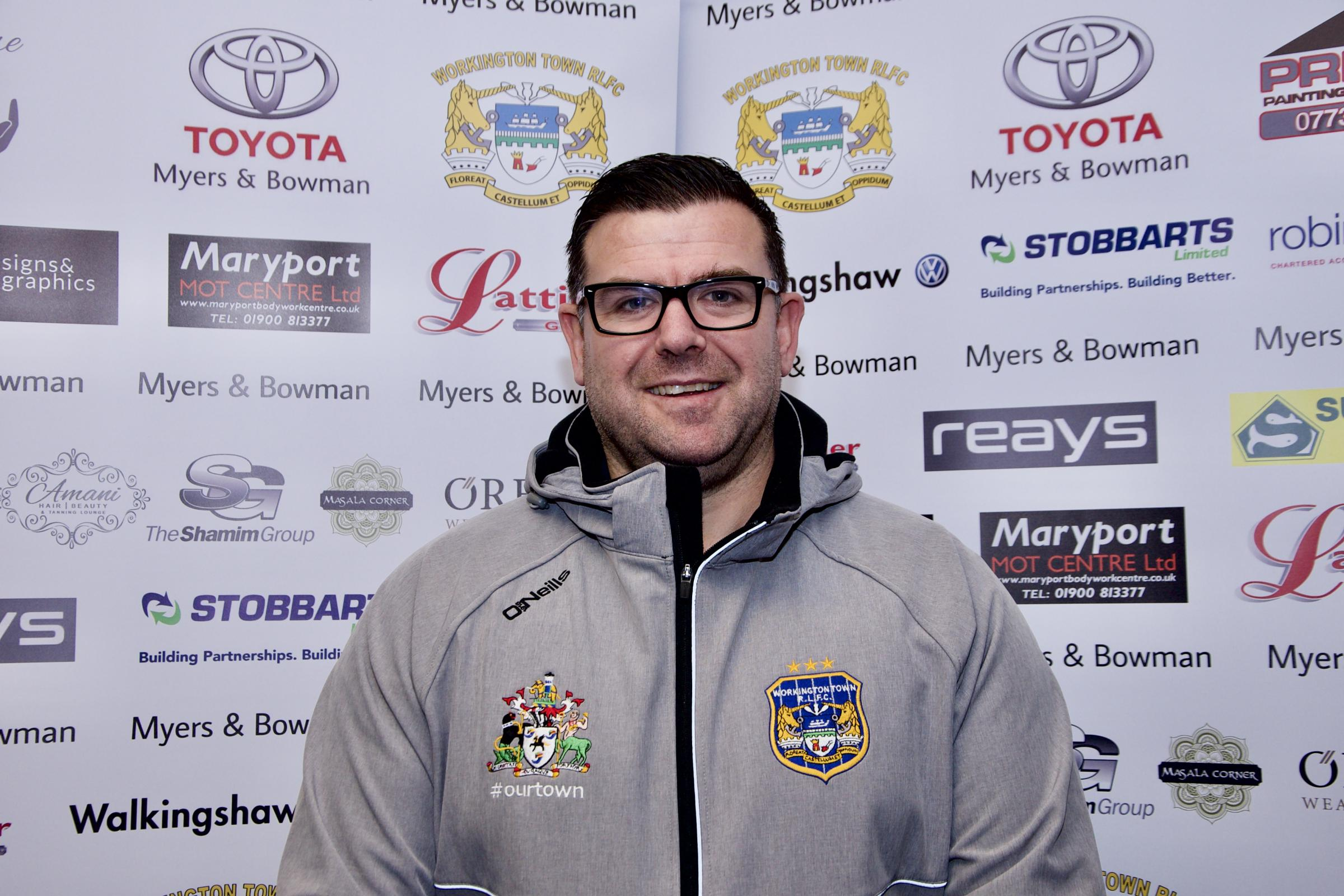 Joined: Craig 'Butch' Barker is a new Workington Town director (Photo: Gary McKeating)