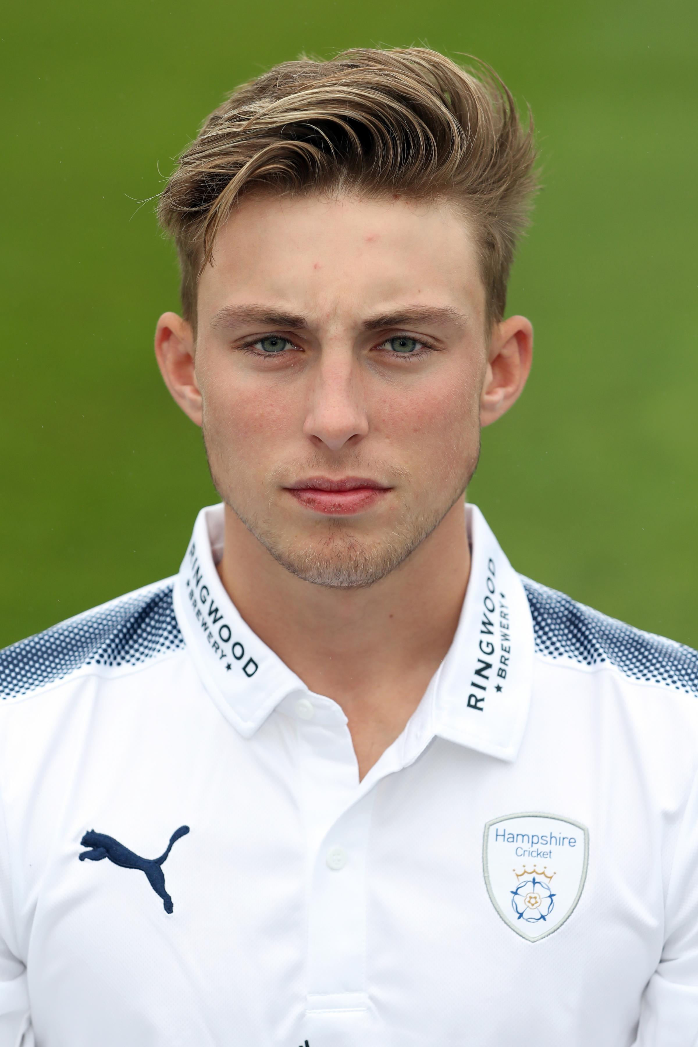 Return: Asher Hart is back at Penrith Cricket Club after he was released by Hampshire in October