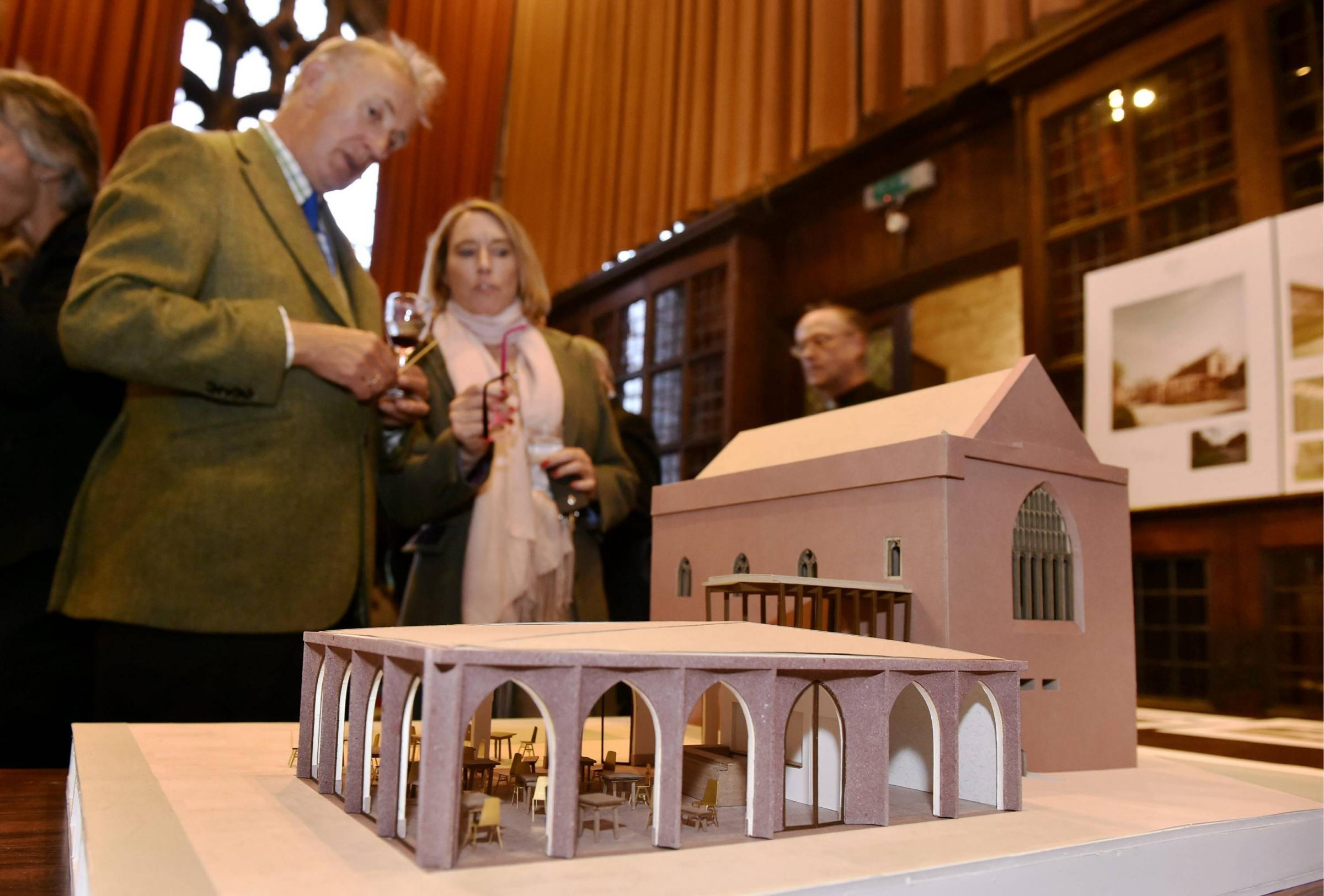 A Patrons' and Stakeholders' reception hosted by The Cathedral Chapter and the Fratry Project Management Group in the Fratry, Carlisle.