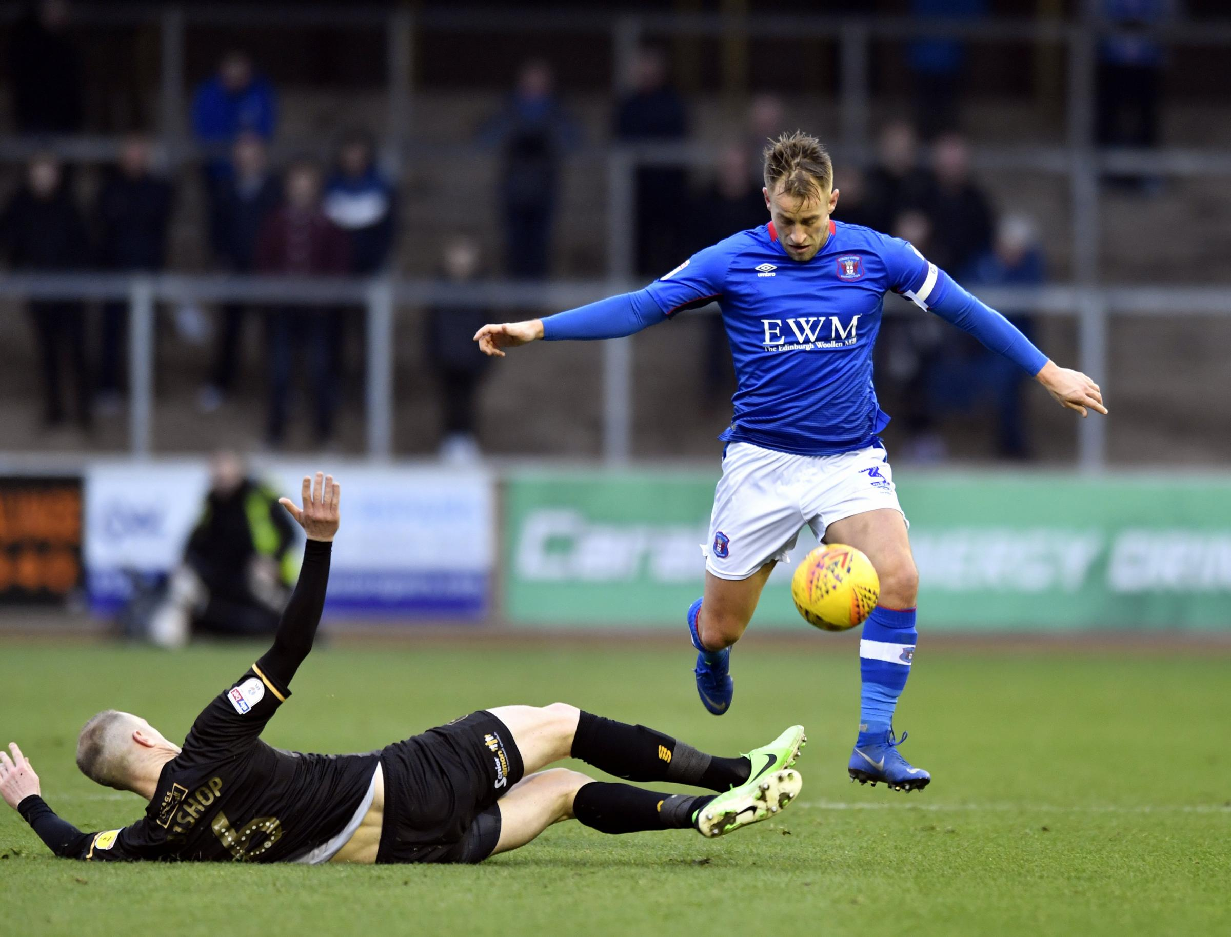 Captain: Carlisle United's Danny Grainger says Saturday's win was an important one for the fans after John Sheridan's departure