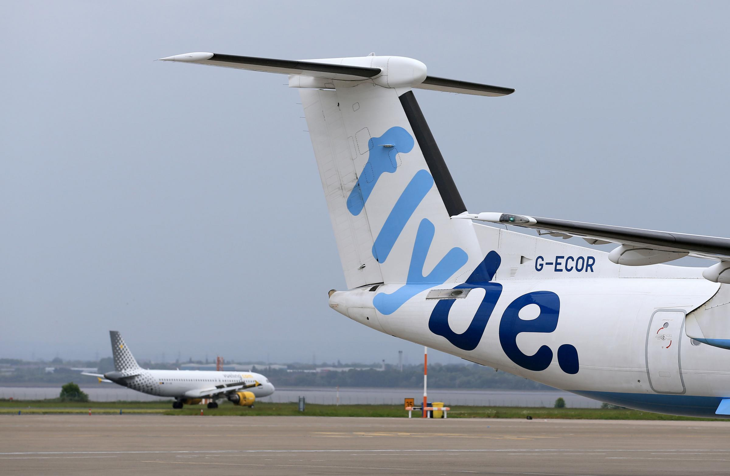 File photo dated 19/05/16 of a Flybe aircraft. Virgin Atlantic and Stobart Group, have agreed an offer on regional airline Flybe in a 2.2 million deal which will see the creation of a new airline group. PRESS ASSOCIATION Photo. Issue date: Friday January