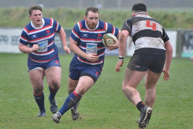 Champions: Matt Shields' Carlisle Rugby Club side have won the North One West title (Photo: Bill Glendinning)