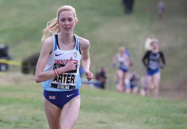 America-bound: Charlotte Arter has travelled to the United States and will race at the Carlsbad 5000 today after Cardiff Bay victory last weekend