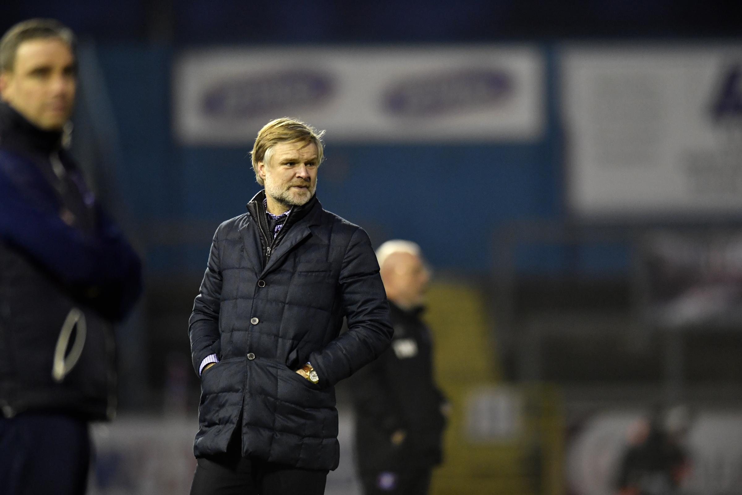 Steven Pressley: transfer dealings (photo: Stuart Walker)