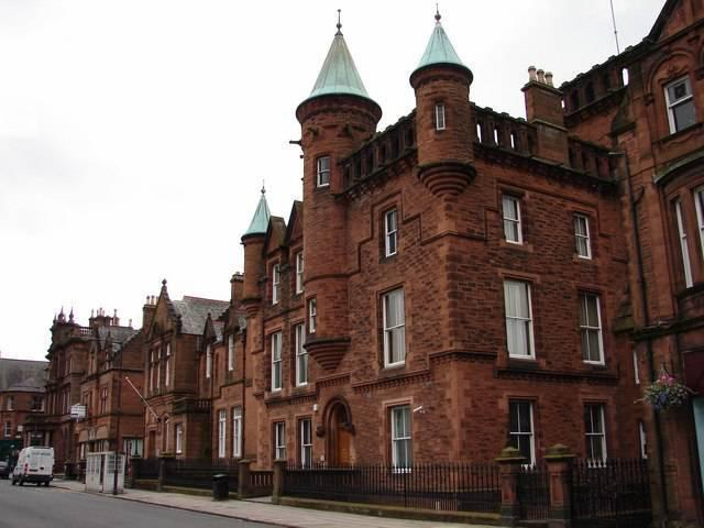Dumfries Sheriff Court.