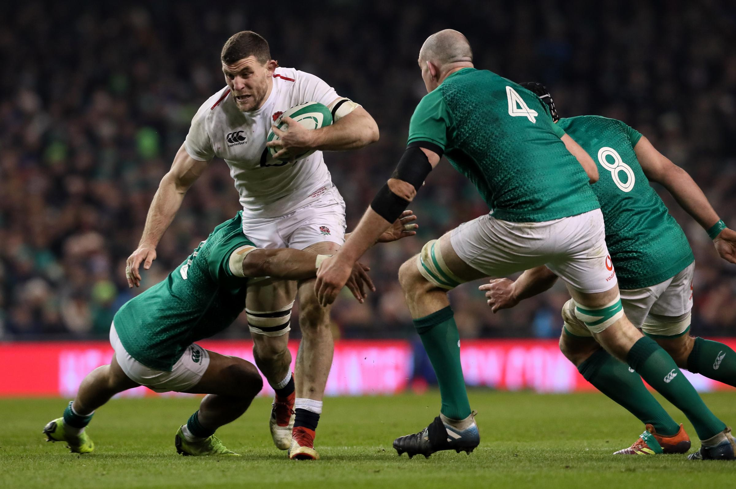 Mark Wilson: The Cumbrian will be hoping to impress again for England against France this Sunday after starring in last weekend's win over Ireland