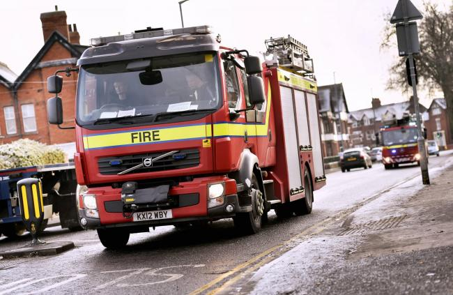 Firefighters were called to a house fire in Stanwix