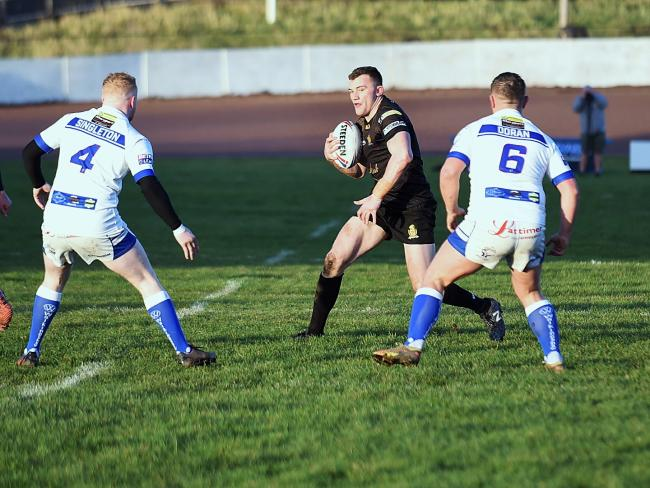 n Jake Moore's performances during Whitehaven's promotion campaign from League 1 last season saw him named in Rugby League World's team of the season for the division		              MIKE MCKENZIE