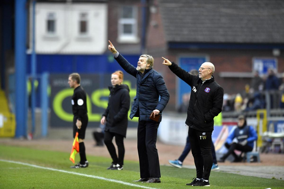 Fans' forum: Supporters will get the chance to put questions across to Carlisle United manager Steven Pressley, as well as his coaching staff, David Holdsworth and Nigel Clibbens, next month (Photo: Stuart Walker)