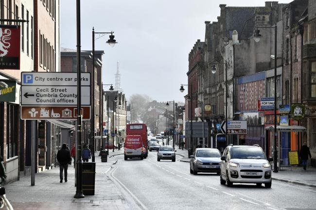 The assault is said to have taken place on St. Nicholas Street in Carlisle city centre, which is just off Botchergate