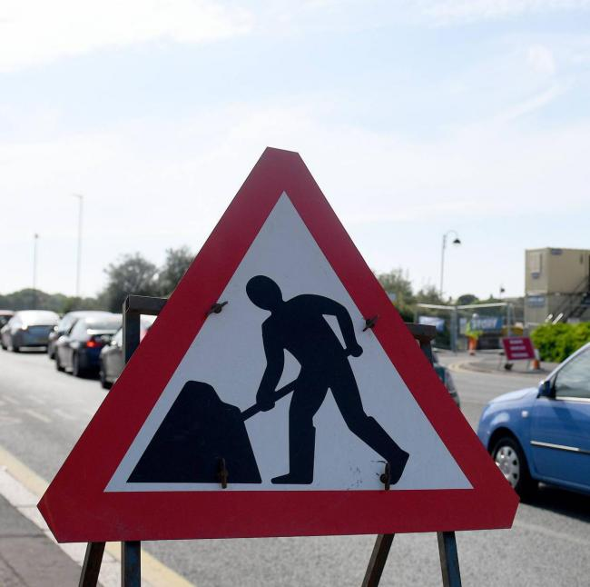 Roadworks are causing delays across Cumbria