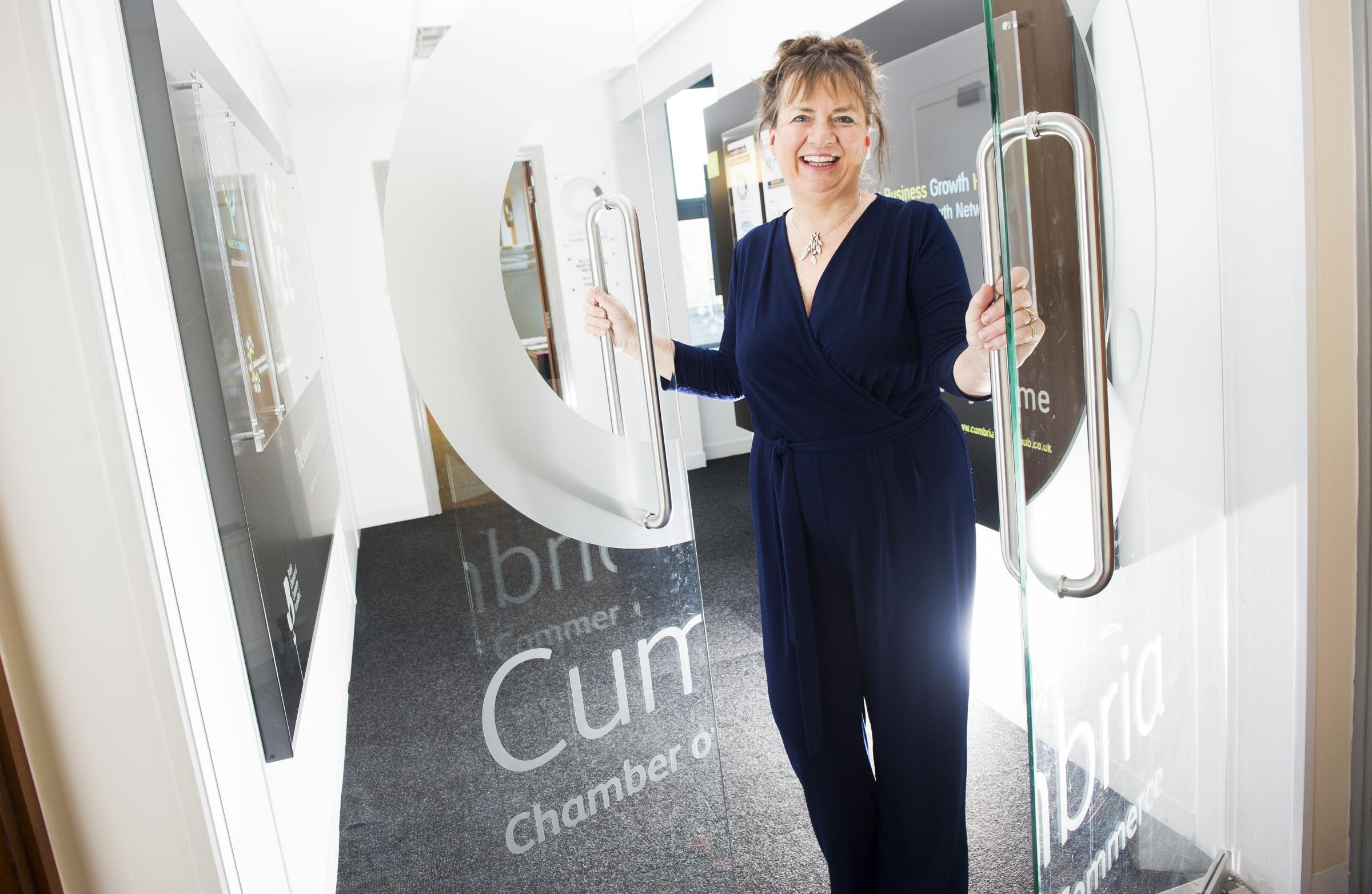 Suzanne Caldwell, of Cumbria Chamber of Commerce