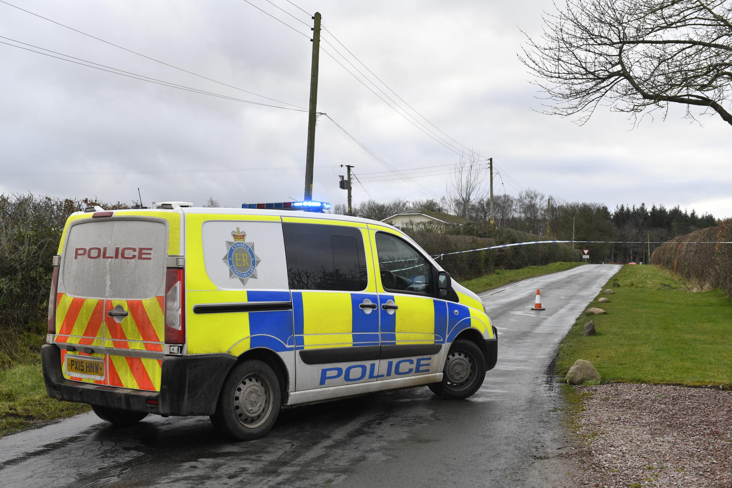 A teenage girl died following a crash near Ivegill, just outside Carlisle