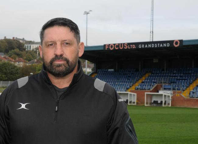 Whitehaven RLFC New Coaches. 2 Oct 2018. Pics Jim Davis...Gary Charlton..