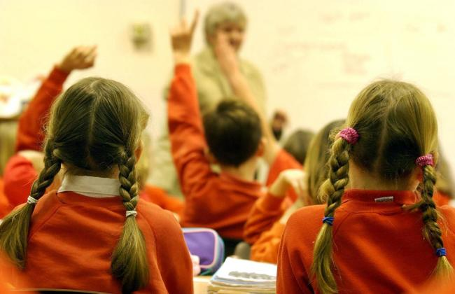 CLASSROOM: We have the term dates for Cumbria.	Picture: Barry Batchelor/PA Wire