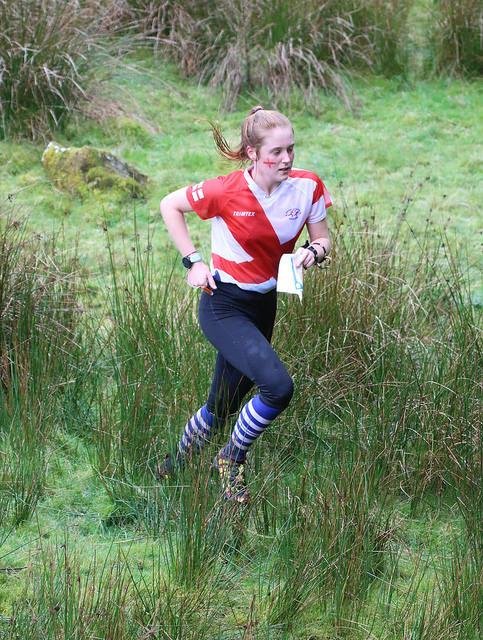 ORIENTEER: Niamh Hunter retained her British title