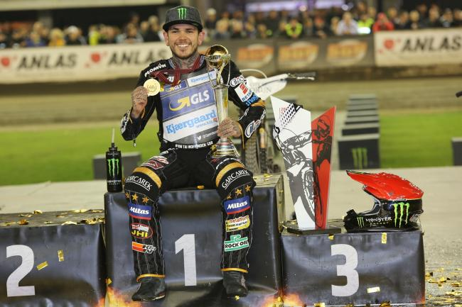 Speedway world champion Tai Woffinden. Picture: Daniel Sievers