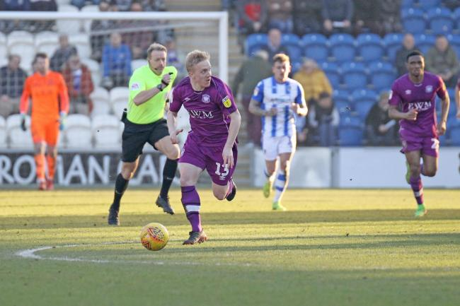Ex-Carlisle man: Striker Mark Cullen now plays for Port Vale, who are United's opponents this weekend (Photo: Barbara Abbott)
