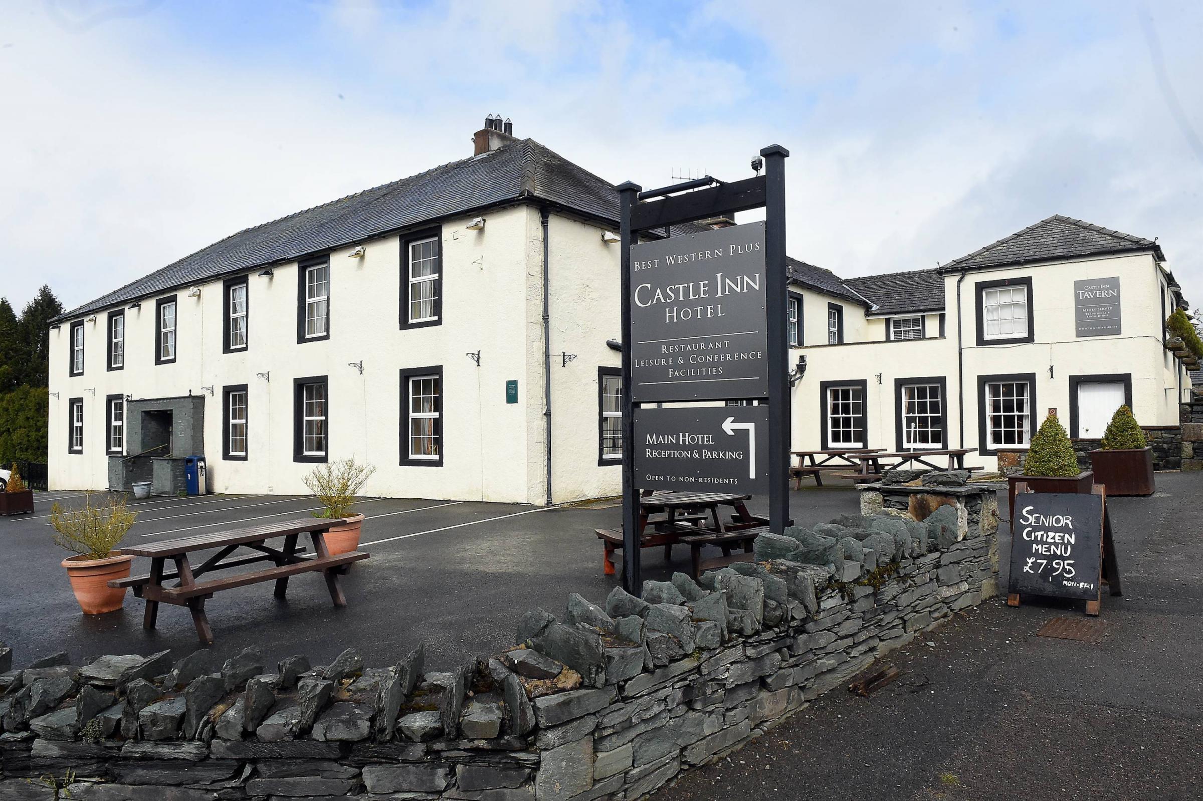 Castle Inn hotel Bassenthwaite. John Story April 16th 2018