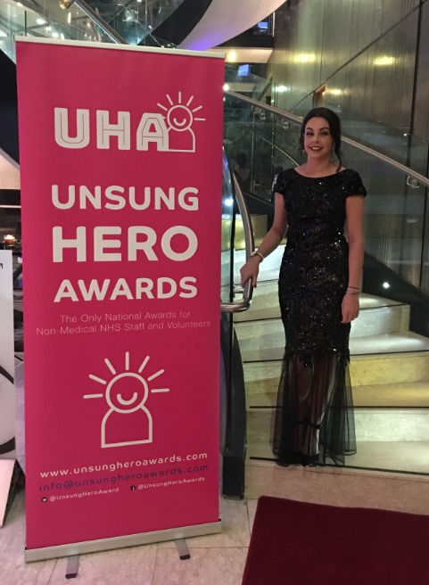 AWARD: Carlisle's Laura Bell was named an Unsung Hero