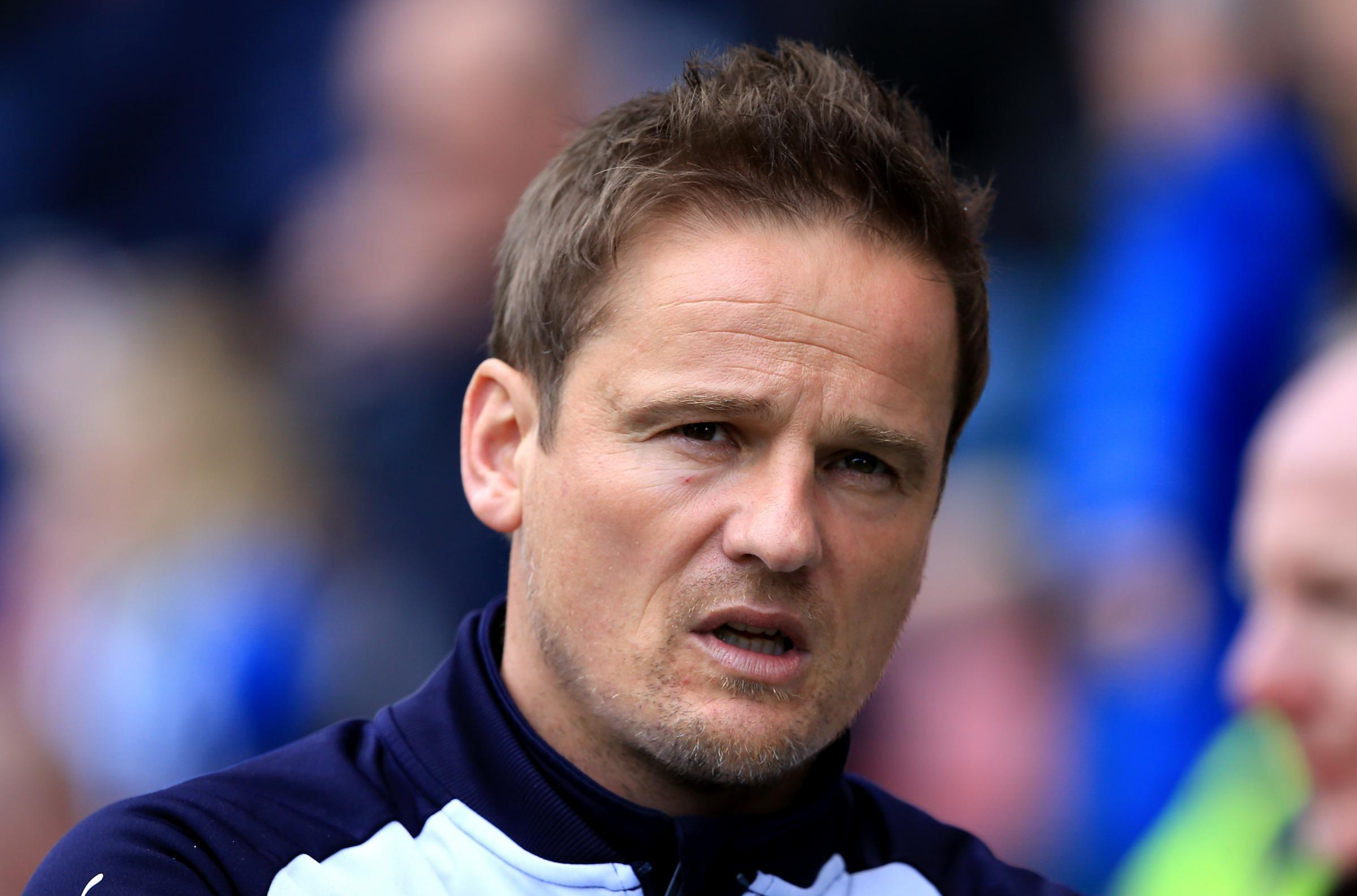 Angry: Notts County's Neal Ardley