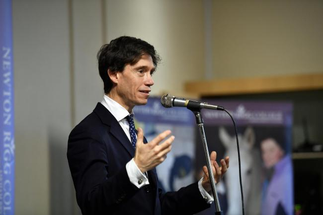 Principles: Penrith and the Border MP Rory Stewart says he will oppose a no-deal Brexit - whatever happens