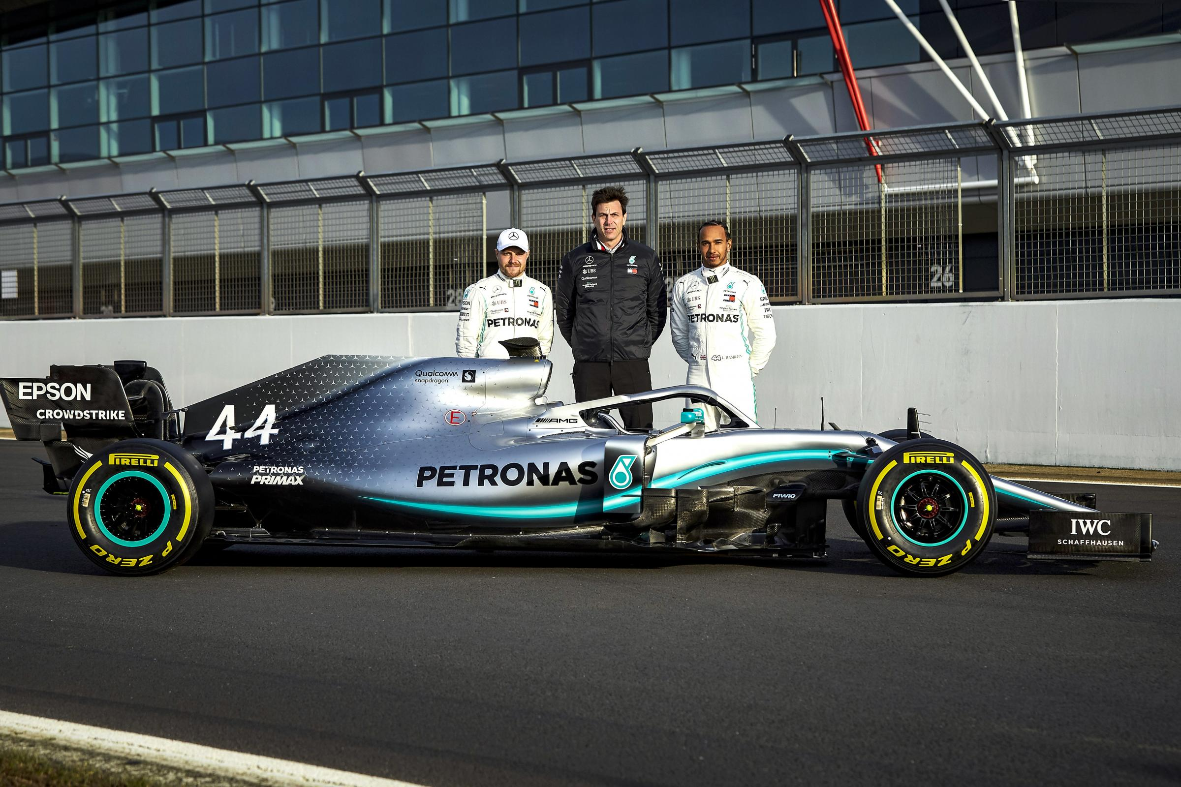 Lewis Hamilton and Valtteri Bottas are paired together again