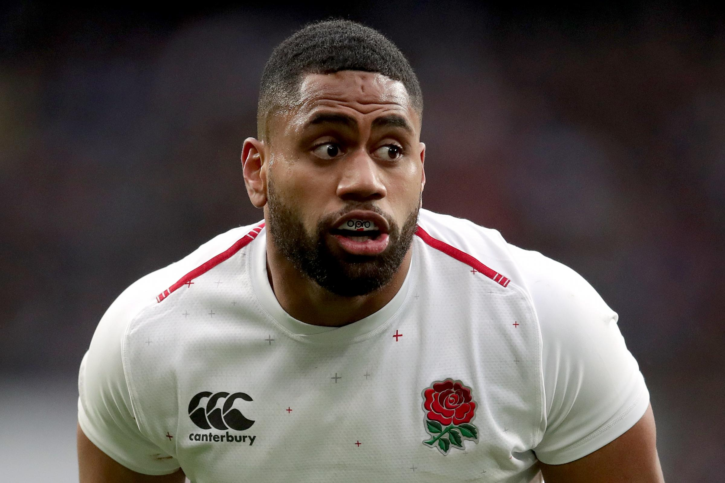 Joe Cokanasiga will play no part against Scotland