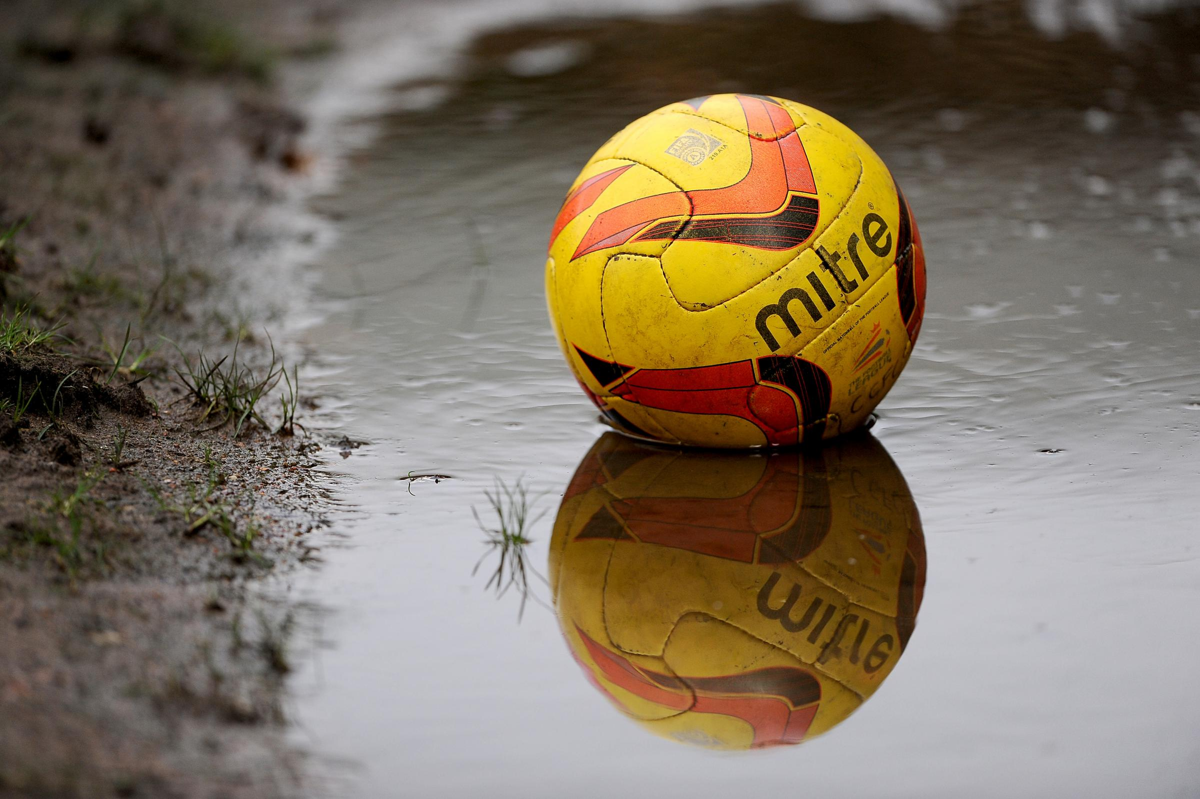Waterlogged pitches: Matches off
