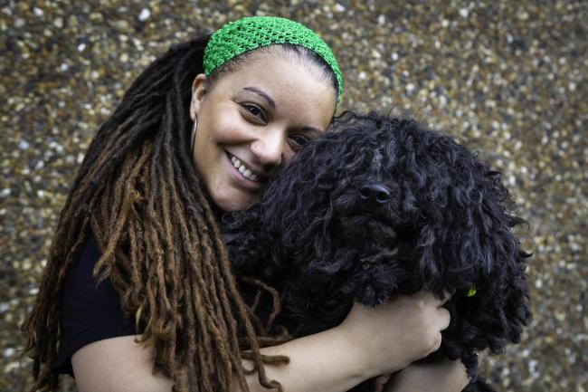 Toni Isden and her Hungarian Puli Sanka were among the stars of the recent Crufts dog show