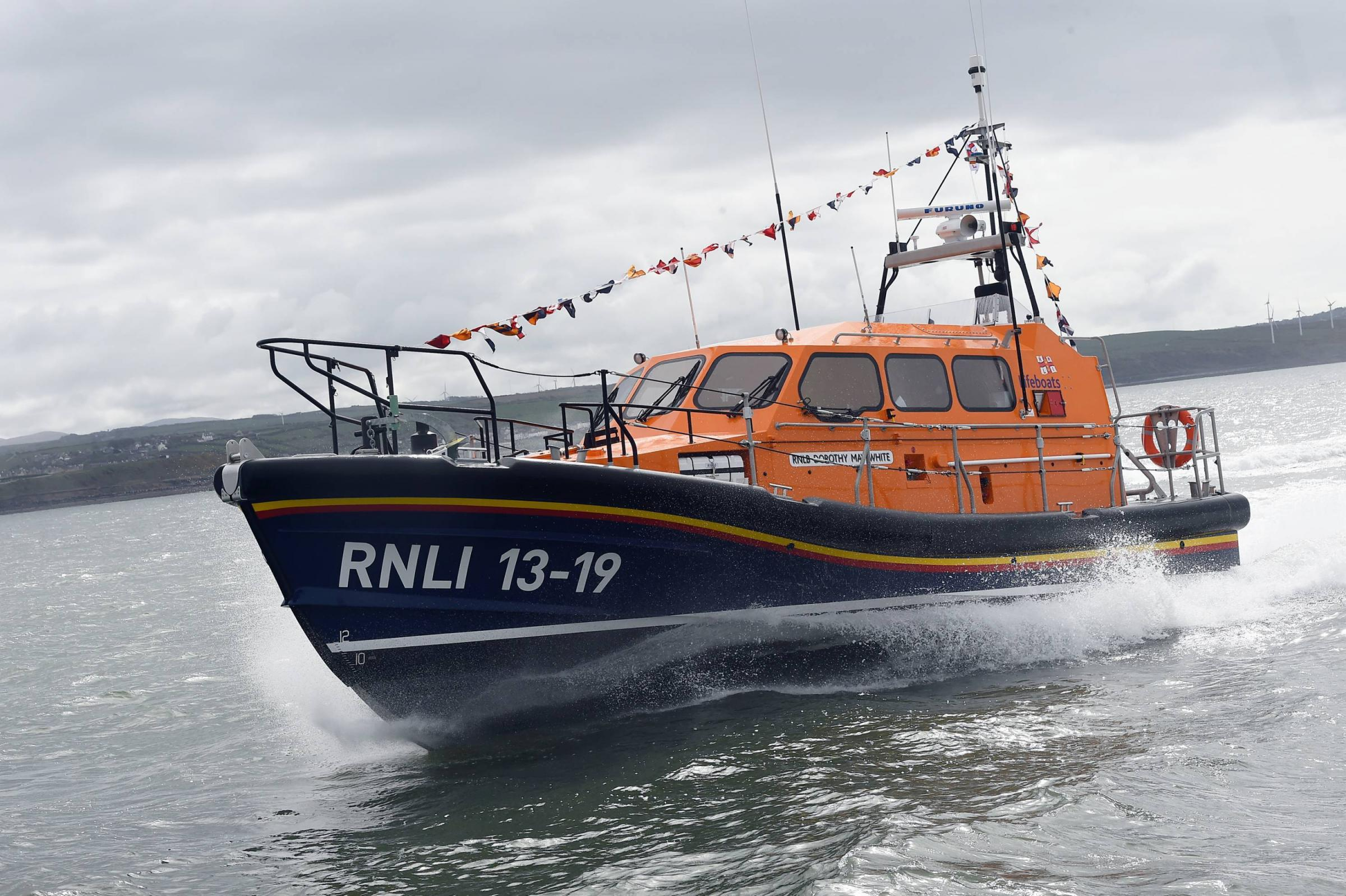 Workington lifeboat Dorothy may White