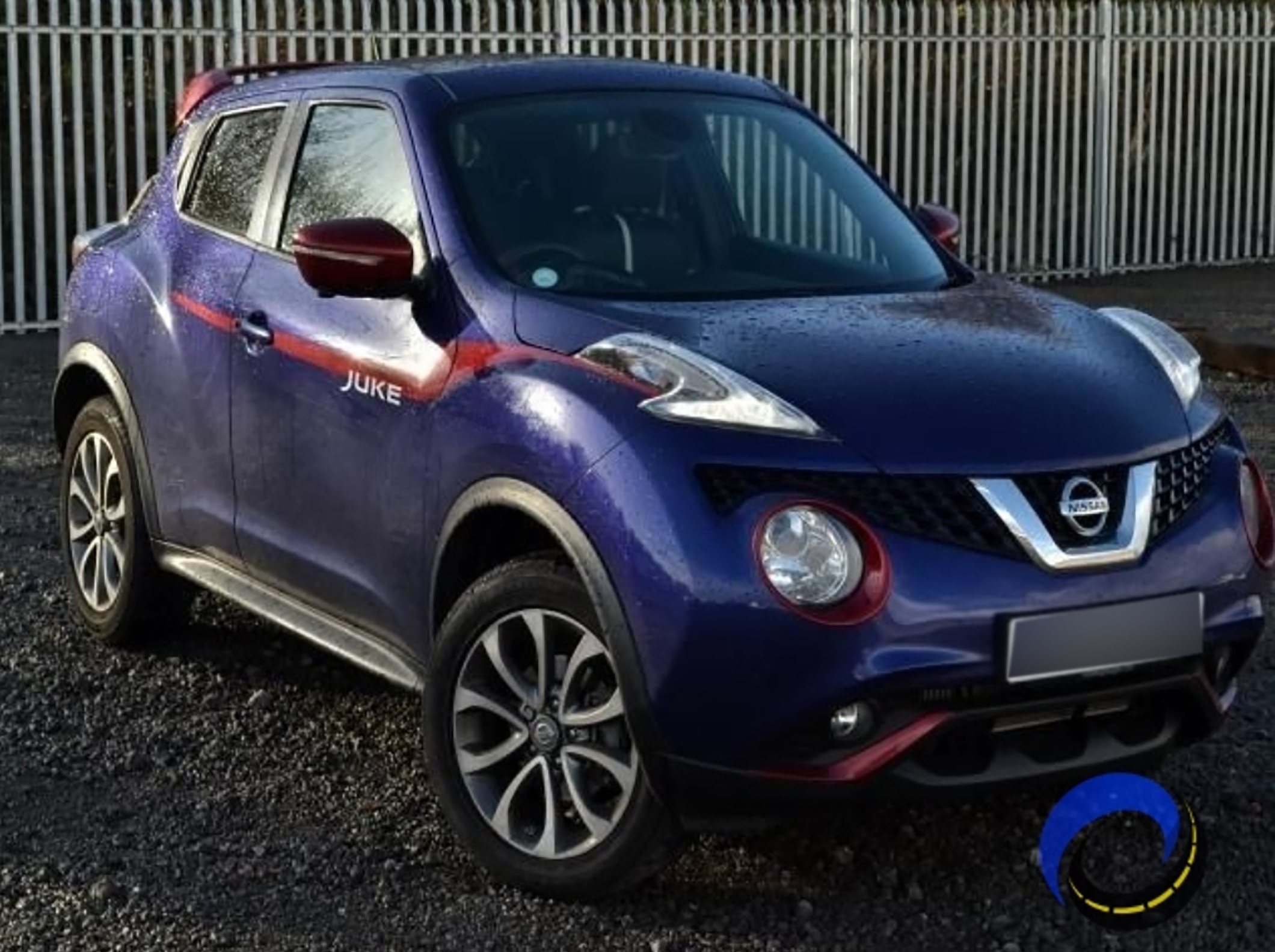 The blue Nissan Juke which Catherine Quinn and her husband Kevin thought they were buying online for £5,600 but it was never delivered