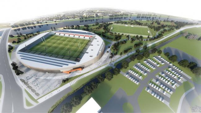 Plans: Allerdale Council will now look into a scaled-back version of the proposed 8,000-capacity stadium