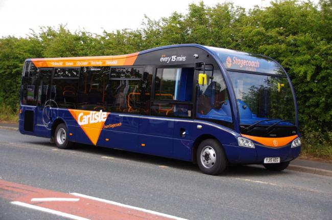 BUS: Fares are to increase for Stagecoach services across Cumbria from April 6, 2019 .  Photo: Stagecoach