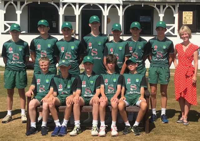 Partnership: Cumbria Cricket's Under-15s team will again be supported by Sally's Cottages this summer