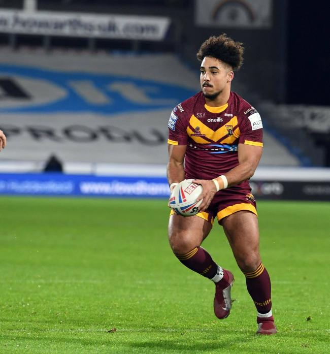New signing: Izaac Farrell is joining Workington Town on a season-long loan from Huddersfield Giants