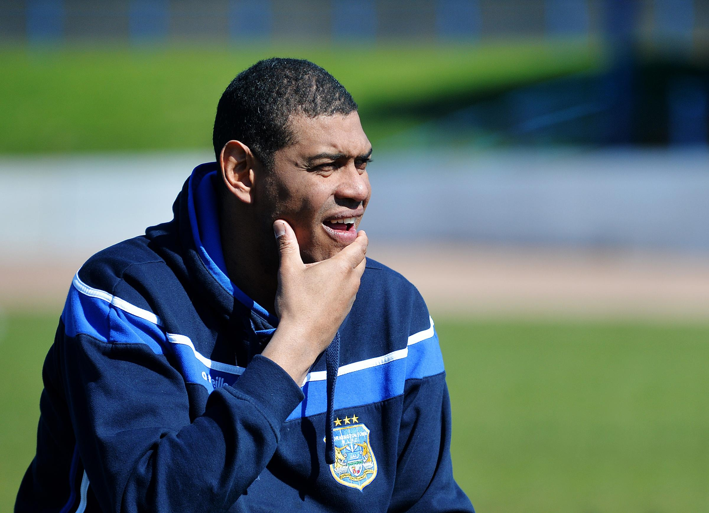 No pressure: Workington Town head coach Leon Pryce just wants a performance from his side (Photo: Tom Kay)
