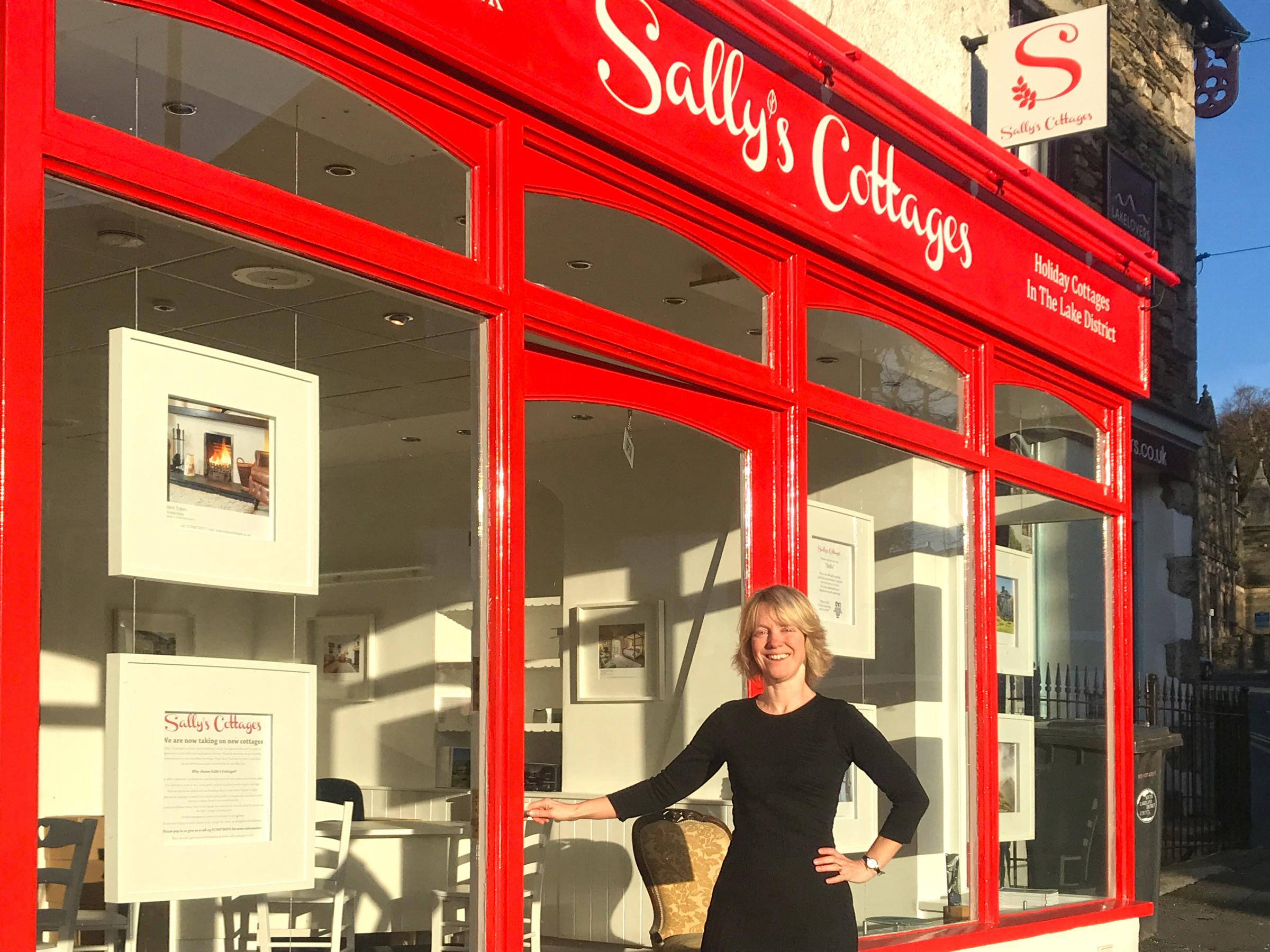 NOMINATED: Sally Fielding, of Sally's Cottages