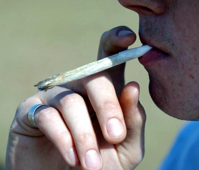 A cannabis joint: Malcolm Lamb, 59, said he sold the drug only to friends