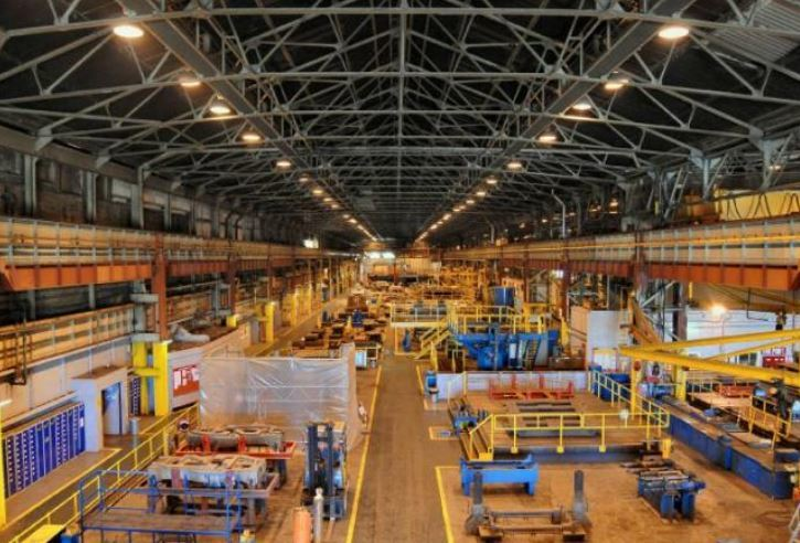 TSP Engineering's workshop, owned by British Steel