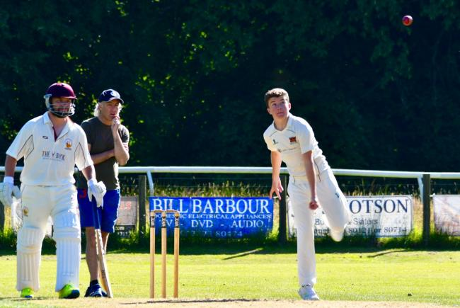 Johnny Westgarth: The young Carlisle Cricket Club spinner was in fine form against Keswick's 3rds