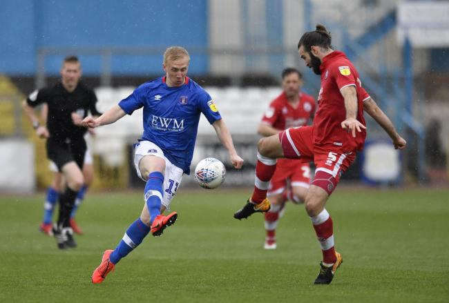 Striker problems: Injury-hit Mark Cullen has been the only senior striking option for Carlisle United since January