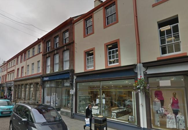 Dixons in Whitehaven. Picture courtesy of Google Street View