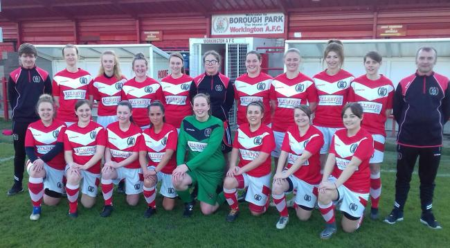 Workington Reds ladies