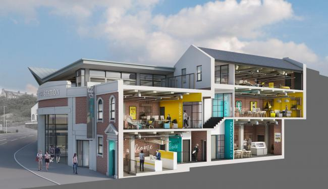 The Watershed, a new £1.1m facility in Whitehaven