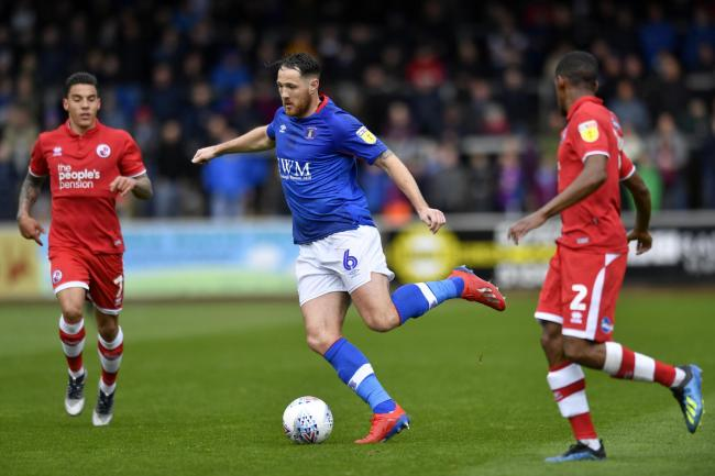Tom Parkes: One of four Carlisle players who have been offered new deals but are yet to make a decision on their futures (Photo: Stuart Walker)